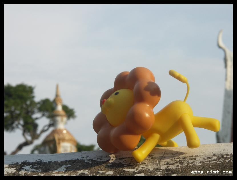 波堤獅伴遊曼谷