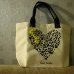 (20100424買物) 又是為了贈品買日雜 : Spring雜誌送的Paul Smith小包包