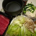 (20100922 生活小記) 中秋夜吃壽喜燒