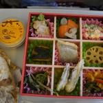 (20110116 大阪-台北) 日航飛機餐:京風便當