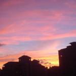921美麗的夕陽