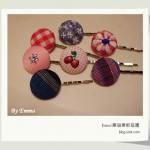 手作 - 簡單可愛的布包扣