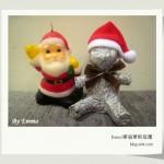 手作 --紙糊聖誕泰迪熊
