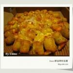 宅在家之明太子黃金蝦球Cheese龍捲風比薩