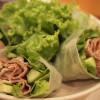 (20110724隨意煮) 涼夏清爽料理。越南春捲