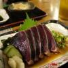 (201010日本四國) 高知ひろめ市場、鰹のタタキ