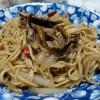 (20140906食記) 炭火快炒的美味,羅山鱔魚麵@嘉義